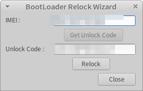 bootloader-relock