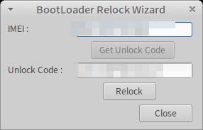 bootloader-relock